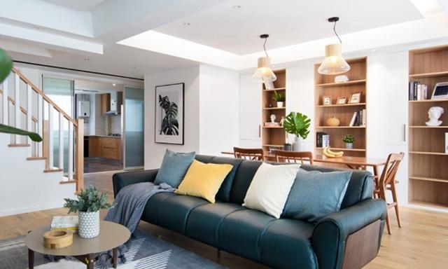 160平方房屋设计图 自然与格调兼具的温馨住宅 - 装修
