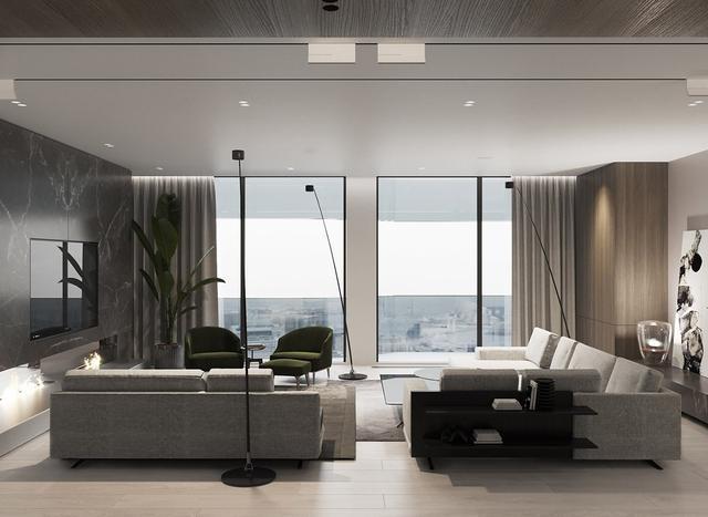 專屬年輕人的高檔現代公寓 有些低調的小豪華