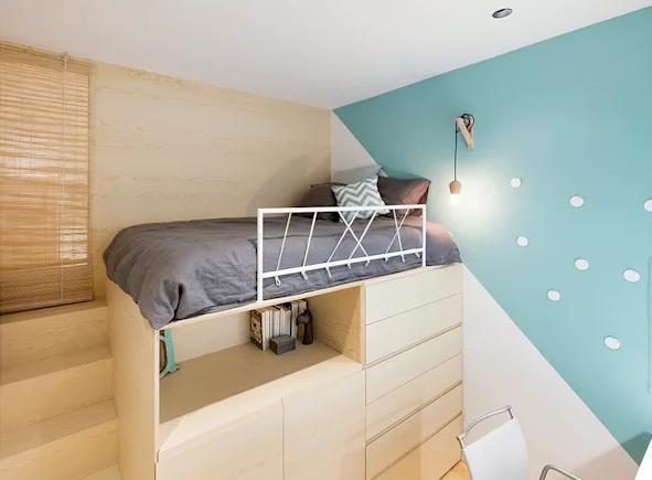 """家庭卧室外围体育投注app设计——小卧室""""变大""""的十五个技巧"""