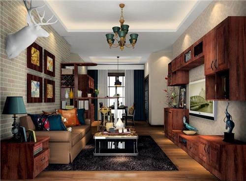 4米宽客厅装修效果图欣赏 让客厅尽量简约时尚