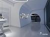 极简素净售楼展厅设计|新与旧的空间联系,心之安处即为家