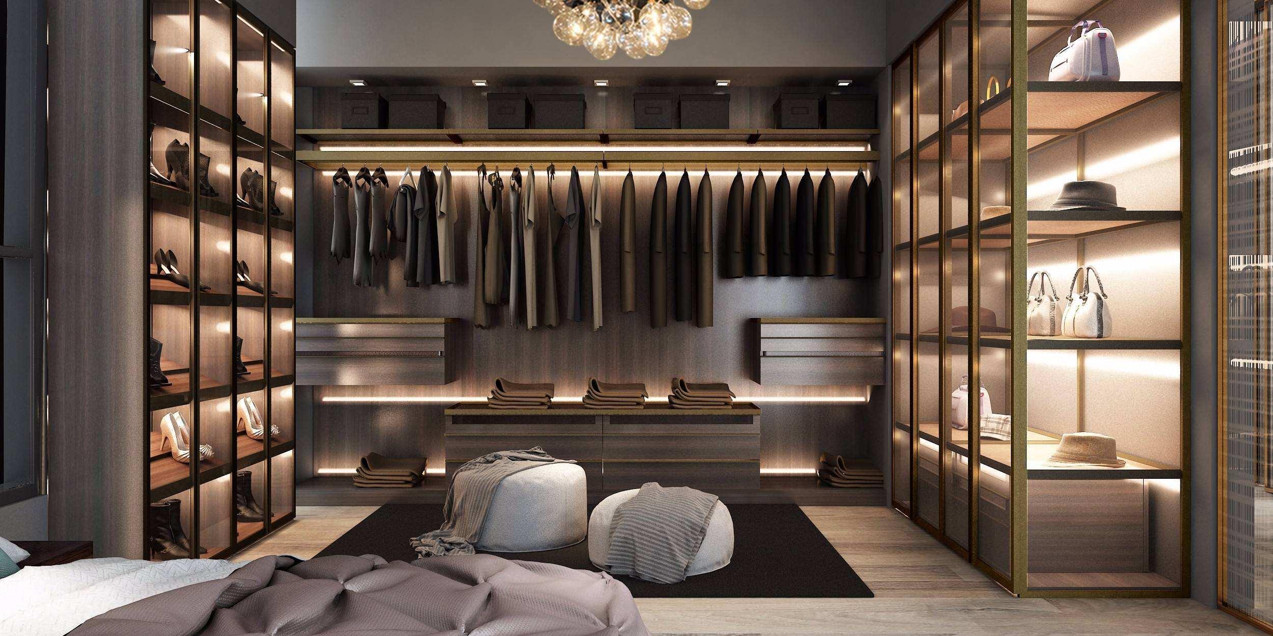 衣柜深度多少合适 给深度升降收纳空间多一倍