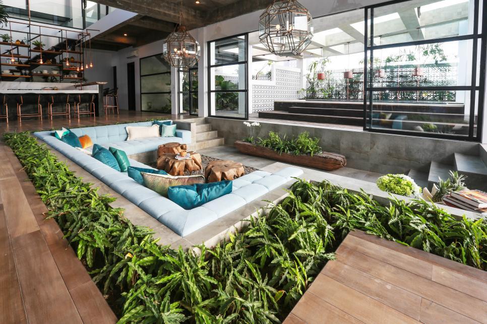 10个新颖的下沉式客厅创意 打造温馨又独特的空间