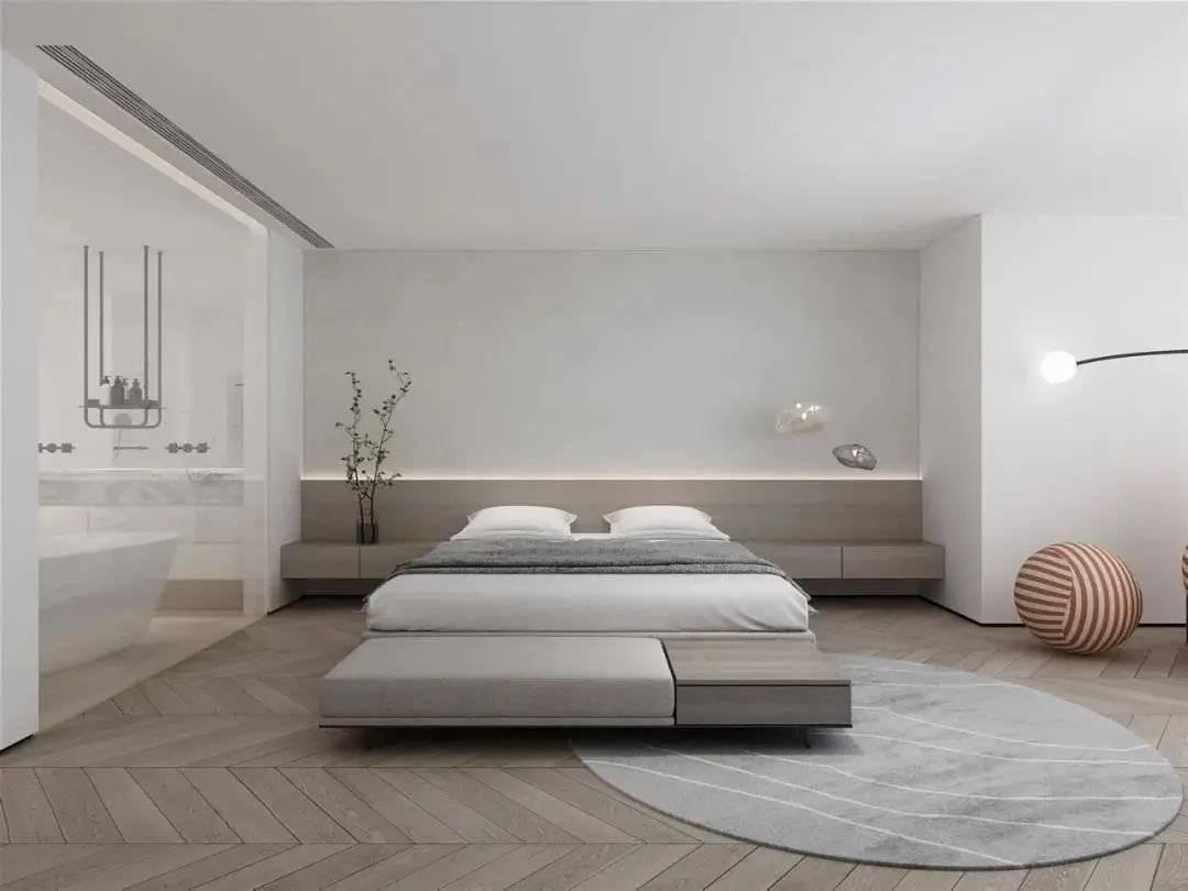 卧室不一定要床头柜 现在很多家庭装修都这样设计