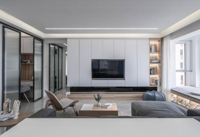 客廳電視柜流行這3種設計 超級上檔次
