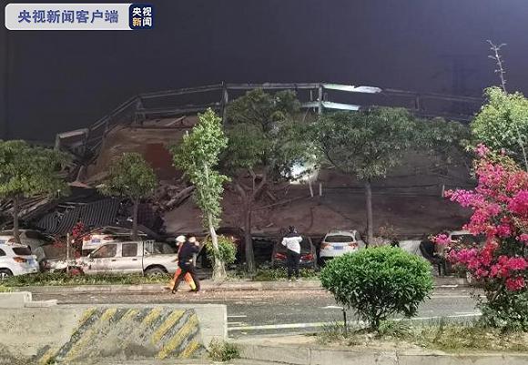 泉州酒店塌掉