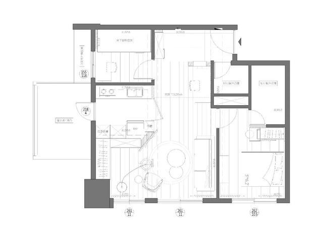 99㎡現代簡約 房子層高做閣樓設計 空間更有趣