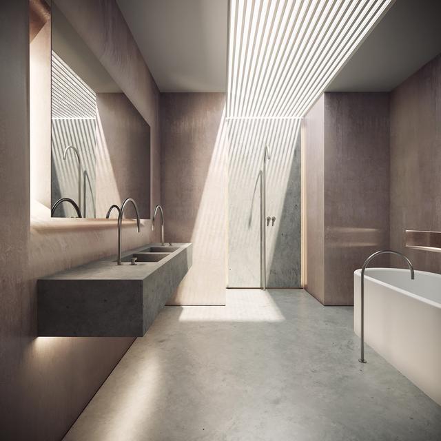 最精致的卫生间装修便是如此 自然而不失典雅