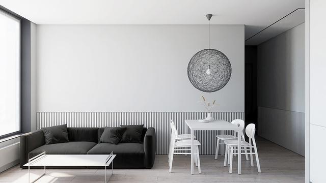 黑白灰现代简约风格装修效果图 简单即是美!
