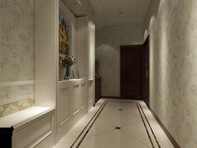 2㎡的入门玄关这样设计 储物、美观两不误