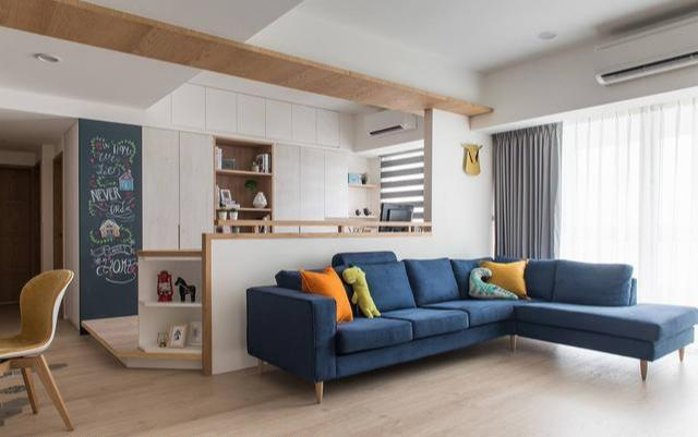 132平老屋翻新案例 打造北欧风居家