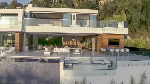 2.5亿独栋豪宅 室内露台有1100平