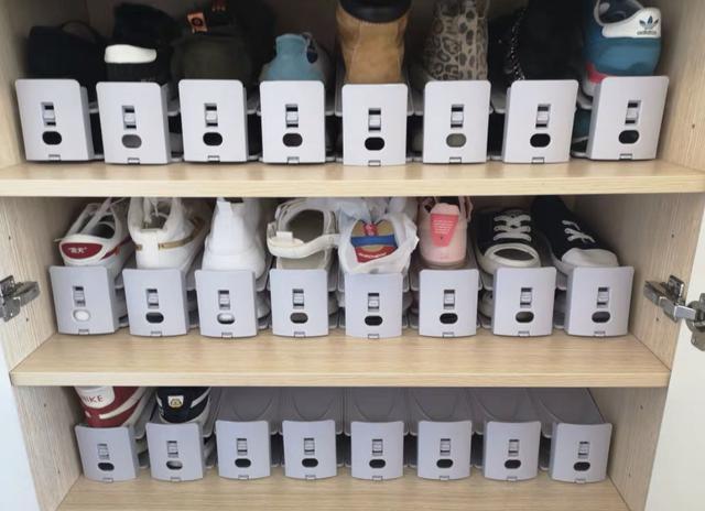 鞋柜固定层板