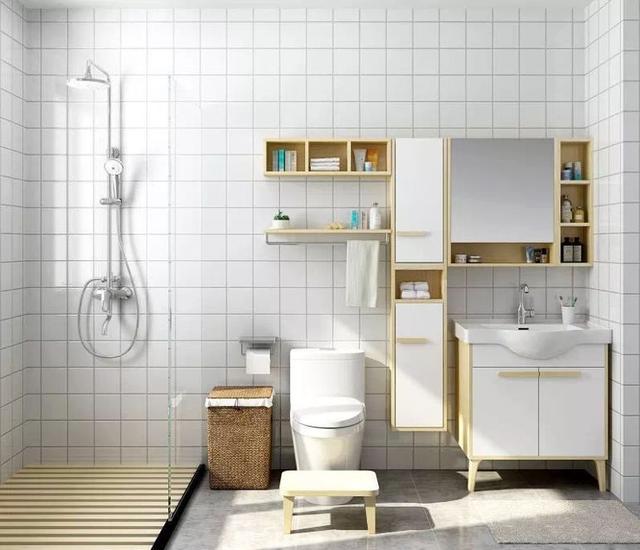 卫生间装修做好三个细节 4㎡能当10㎡用