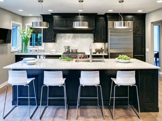 别致,时尚的厨房岛台 让你家厨房焕然一新