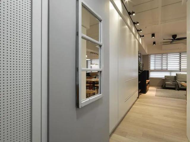 90㎡的二居室改造 做开放式空间设计