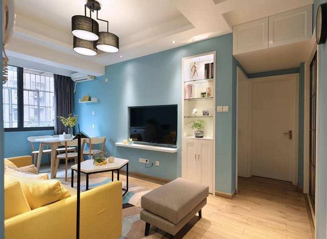 小面积客厅如何装修显大 这4种方法值得借鉴