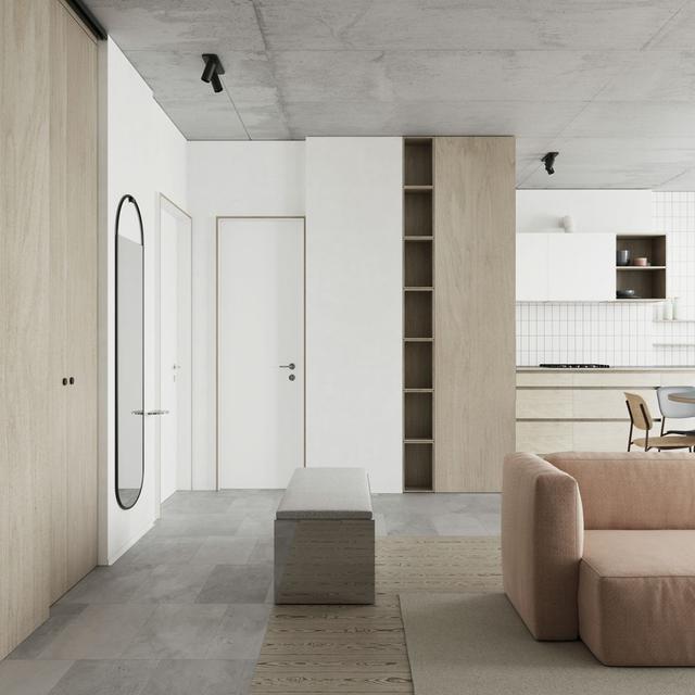 新房别再用木门了 现在流行高颜值的隐形门