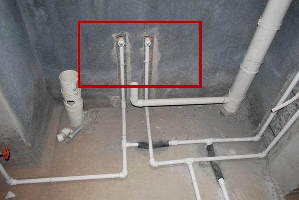 水管走墙的接头你家做对了没有 现在流行这样做