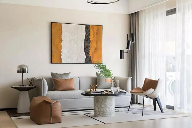 104㎡现代简约空间 慵懒舒适的家