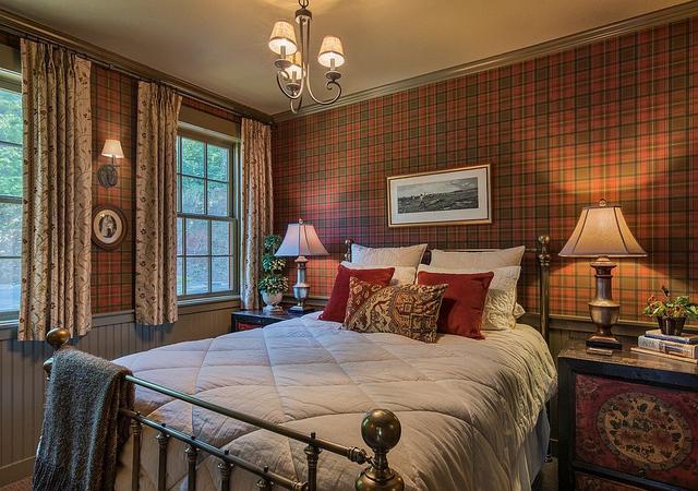 乡村风格的卧室 将现代与舒适相结合的理念