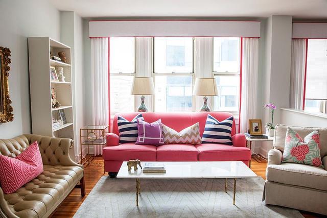 关于客厅的装饰 加入编织元素的它更有生活气息