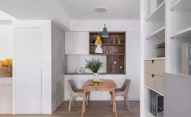 30个好看又实用的餐边柜设计方案(建议收藏)