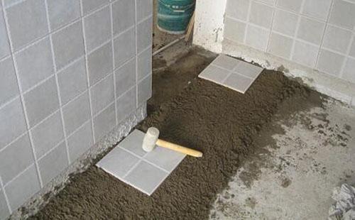 瓷砖干铺和湿铺哪个好 选错容易出现空鼓