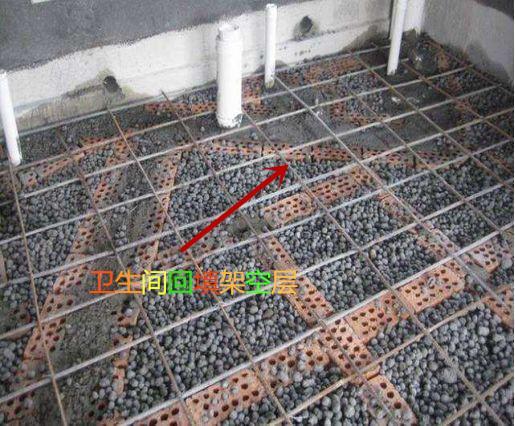 卫生间回填完陶粒 一定要架空一层钢丝网