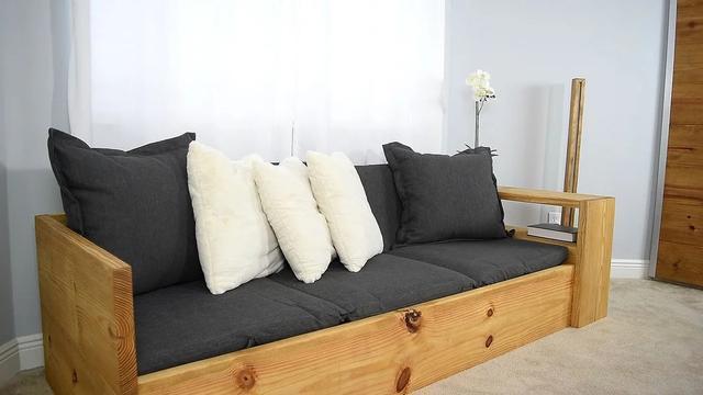 木工自己做沙发怎么做 把这些步骤记下你也可以的