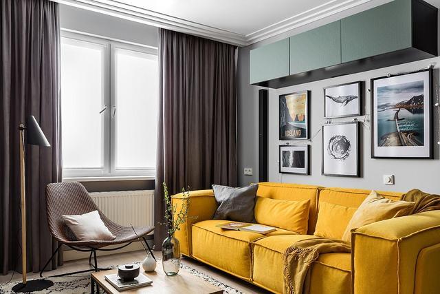 小客厅装饰方案 寻找合适的沙发来定义空间