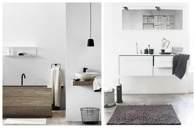 洗手台在卫生间外 既实现干湿分离又节省了空间