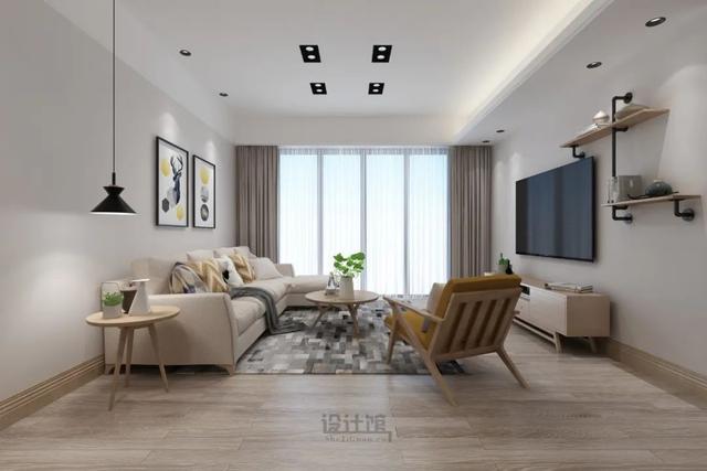 客厅窗帘如何搭配 这9套方案你喜欢哪款