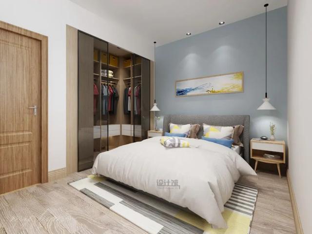 不同大小的卧室有不同布置方式 动线需规划好