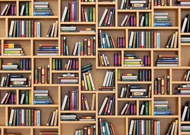 家里没书房做这4种书架 不占地有颜值又实用