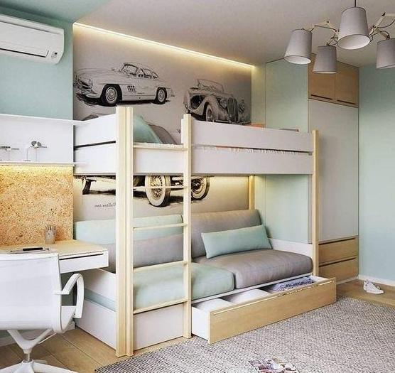 二胎家庭怎么挑儿童床 不仅仅只有上下铺这几种也很舒适