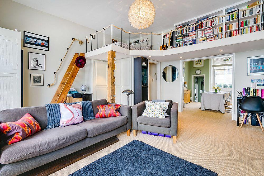 带夹层的住宅打开个性十足的阁楼梦幻空间