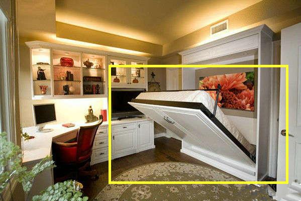 卧室别傻傻摆放1.8米的床 试试这种隐形设计不占空间