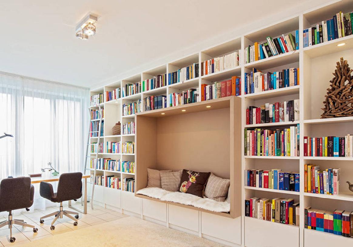开放式书柜