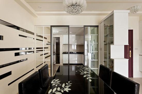 背景墙玻璃雕花镜子