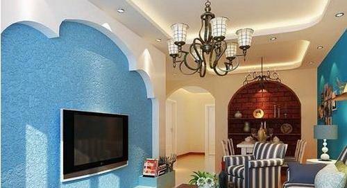 欧式电视墙     电视背景墙搭配tips:复式客厅,欧式风格电视墙