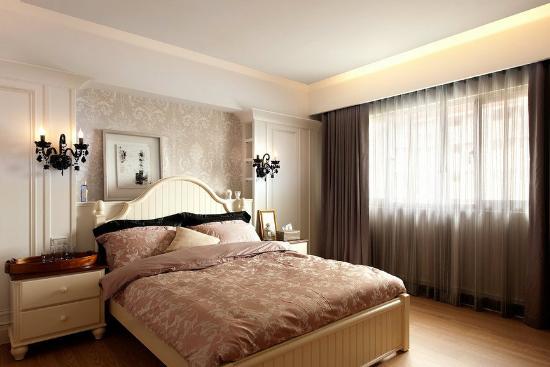 欧式卧室背景墙颜色搭配效果图-装修保障网