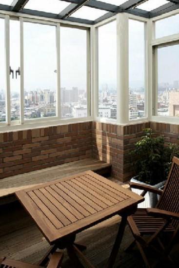 最新小阳台装修效果图大全欣赏