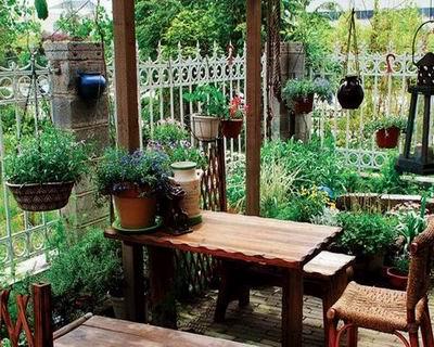 居室阳台花园装修效果