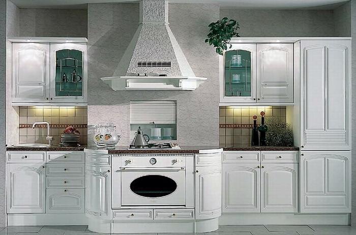欧式厨房装修效果