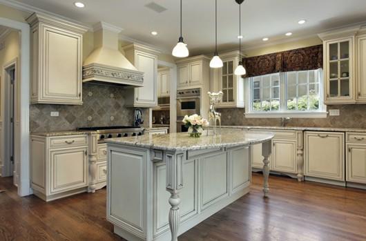 同设计风格的厨房装修效果-装修保障网图片