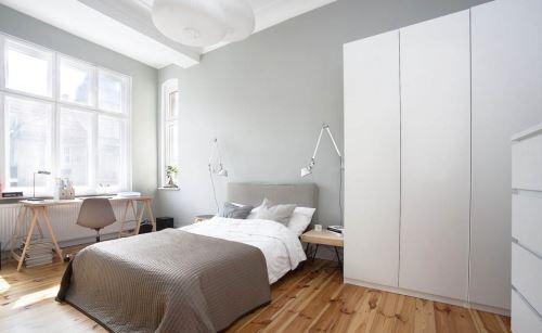 轻松浪漫 北欧极简风格装修的卧室