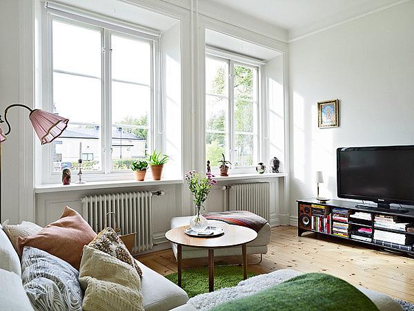 优雅漂亮一居室 58平实用白领公寓 小户型装修,一