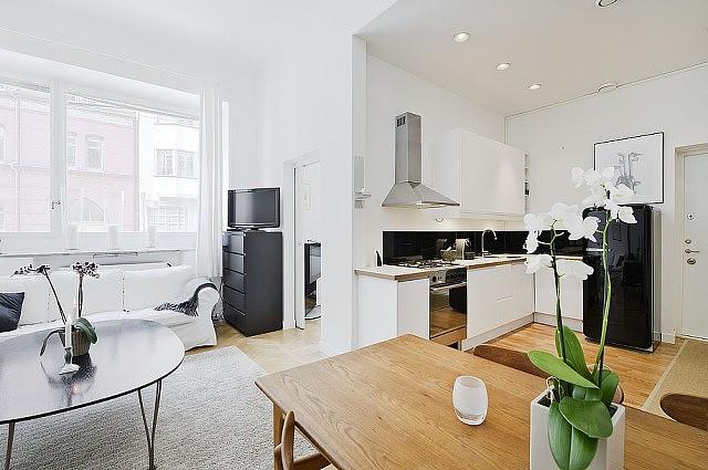 开放式设计 北欧风极简37平单身公寓 小户型装修