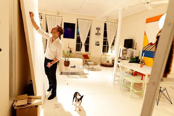 个性家居 纽约设计师的家庭工作室图片